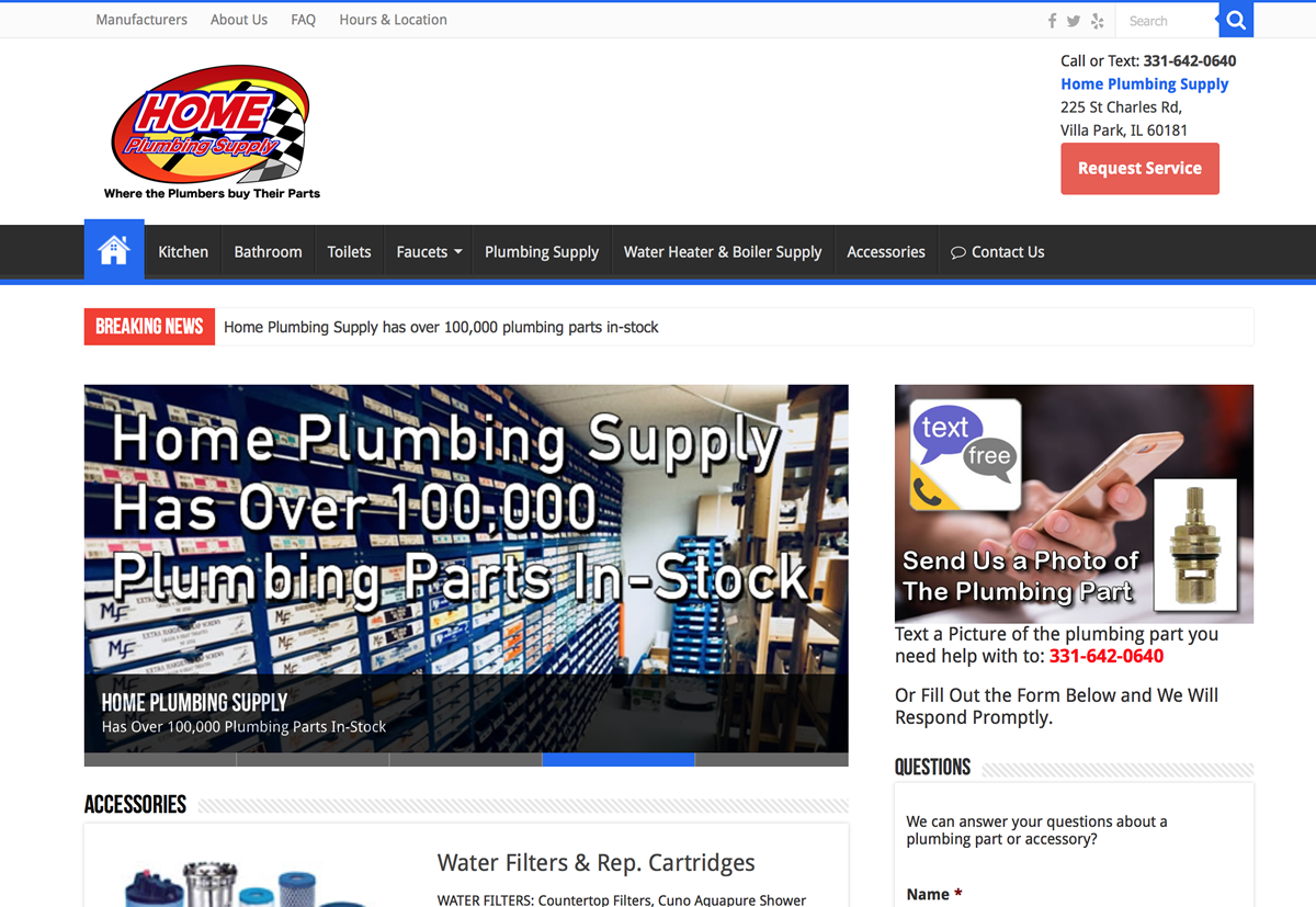 Home Plumbing Supply